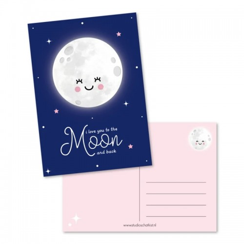 I love you to the moon and...