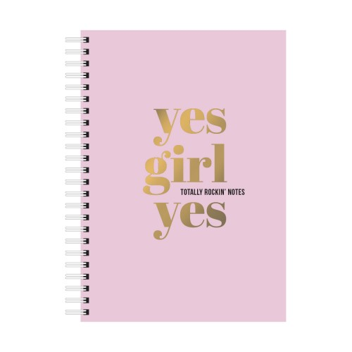 A5 Notebook Yes Girl Yes
