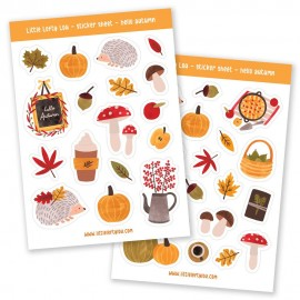 Stickervel | Hello Autumn