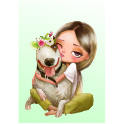 Hond| Fluffy hugs collectie...