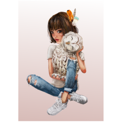 Uil| Fluffy hugs collectie...