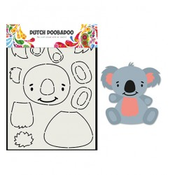 DDBD Card Art Built up Koala