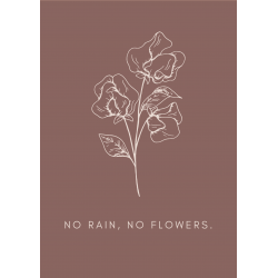 No rain, no flowers | Nude
