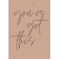 You've got this | Nude