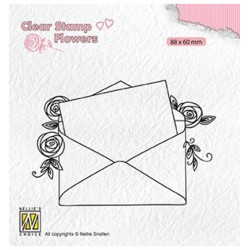 Clear stamps Flowers Love...