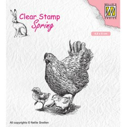 Clear stamps spring 'Mother...