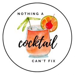 Nothing a cocktail can't...