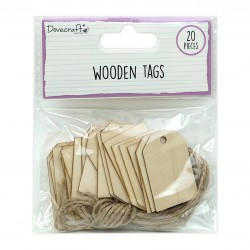 Dovecraft Wooden Tags...