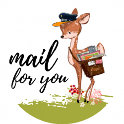 Mail for you  Sluitstickers...